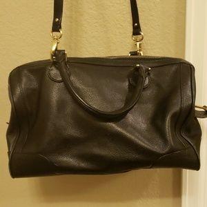 Banana Republic Bags - Banana Republic herringbone printed leather bag
